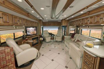 Luxurious Motorhomes Interior Design 18