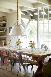 Modern Farmhouse Kitchen Tables 16