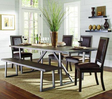 Modern Farmhouse Kitchen Tables 22