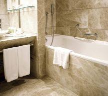 Natural Bathroom Tile Ideas 18