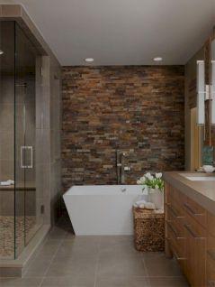 Natural Bathroom Tile Ideas 23
