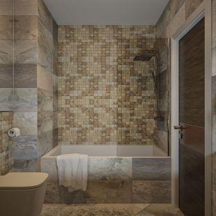 Natural Bathroom Tile Ideas 7
