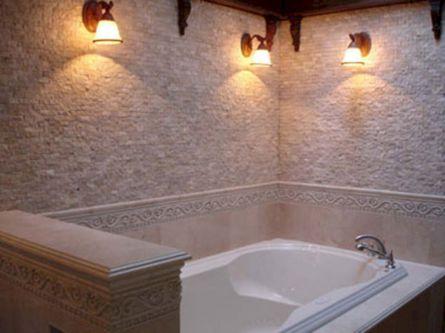 Natural Bathroom Tile Ideas 8