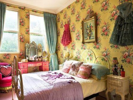 Romantic Vintage Bohemian Bedroom 12
