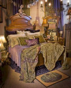 Romantic Vintage Bohemian Bedroom 15
