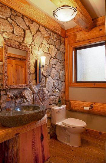 Rustic Bathroom Decorating Ideas 12