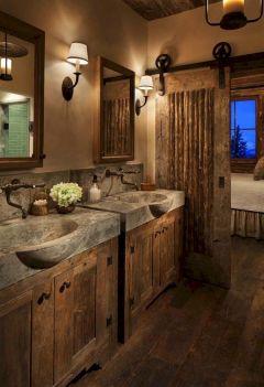 Rustic Bathroom Decorating Ideas 29