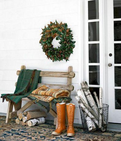 Tiny Front Porch Decorating Ideas 112