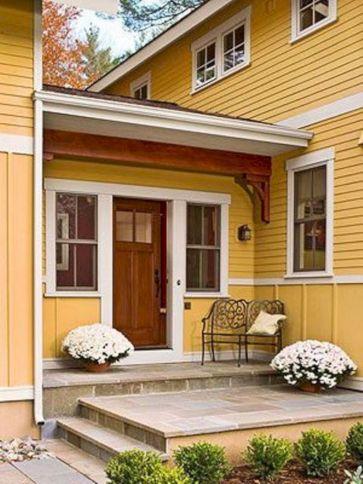 Tiny Front Porch Decorating Ideas 115