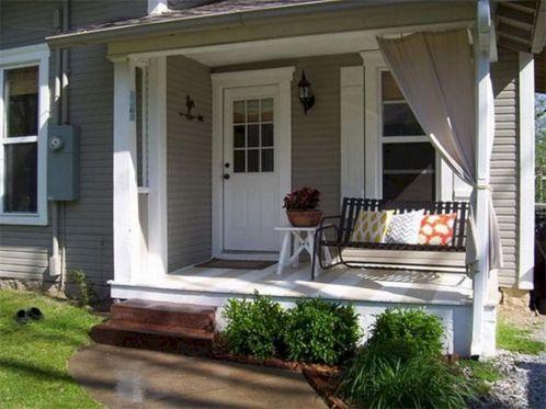 Tiny Front Porch Decorating Ideas 13