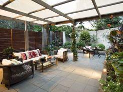 Backyard Living Space Design 12