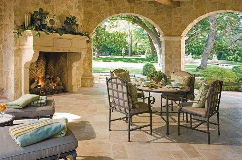 Backyard Living Space Design 9