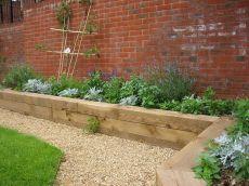 Brick Flower Bed Ideas 13