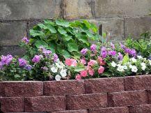 Brick Flower Bed Ideas 15