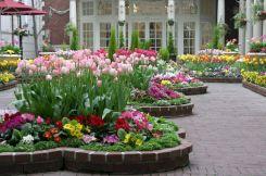 Brick Flower Bed Ideas 19
