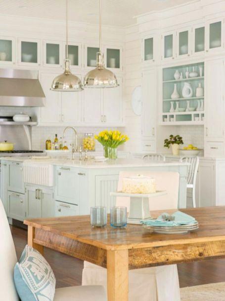 Coastal Farmhouse Kitchen Design 2