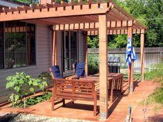 DIY Backyard Shade Structure 12