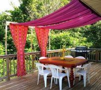 DIY Backyard Shade Structure 2