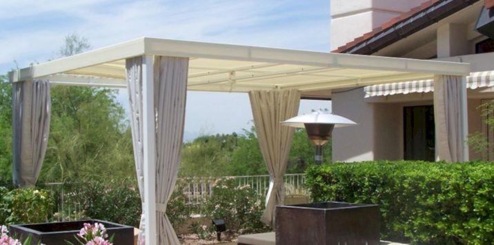 DIY Backyard Shade Structure 20
