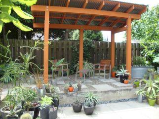 DIY Backyard Shade Structure 22