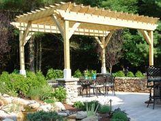 DIY Backyard Shade Structure 23