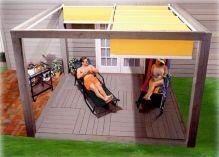 DIY Backyard Shade Structure 27