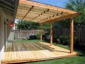 DIY Backyard Shade Structure 3