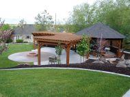 DIY Backyard Shade Structure 4