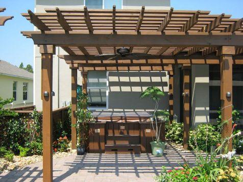 DIY Backyard Shade Structure 5