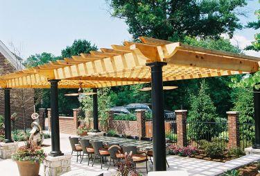 DIY Backyard Shade Structure 8