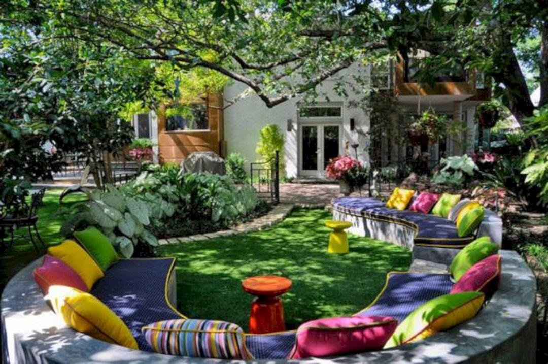 Garden Design Ideas With Seating Area 12
