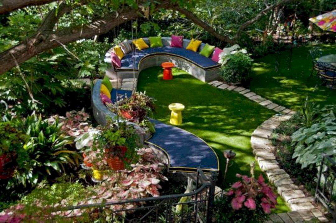 Garden Design Ideas With Seating Area 13