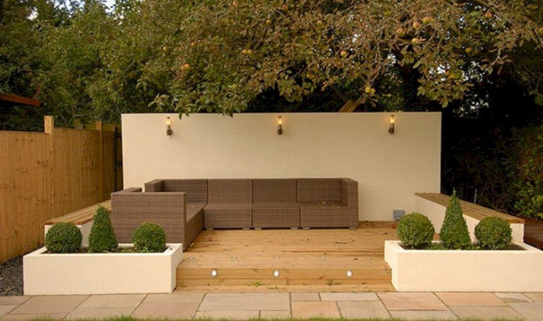 Garden Design Ideas With Seating Area 22