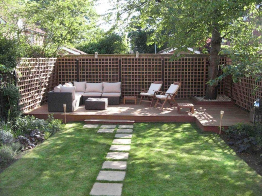 Garden Design Ideas With Seating Area 24