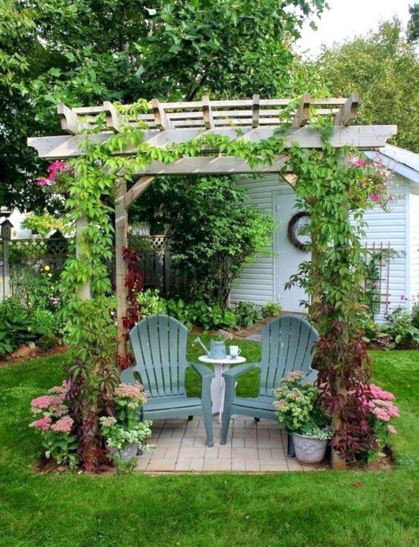 Garden Design Ideas With Seating Area 3