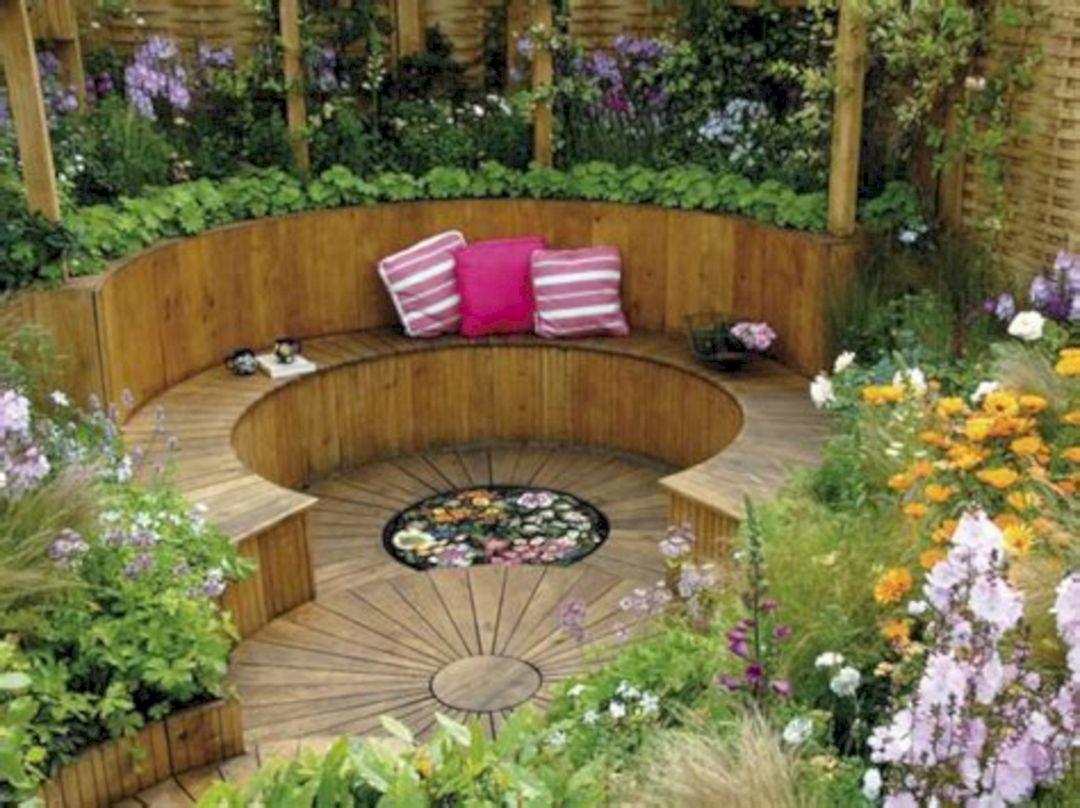 Garden Design Ideas With Seating Area 4