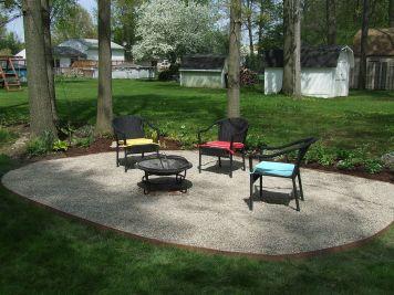 Gravel Backyard Design Ideas 13