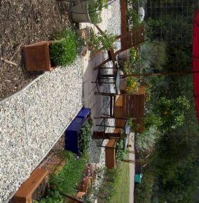 Gravel Backyard Design Ideas 17
