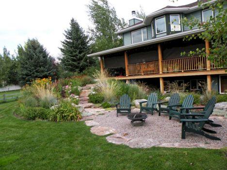 Gravel Backyard Design Ideas 2