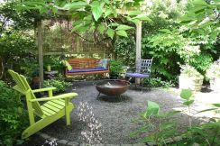 Gravel Backyard Design Ideas 25