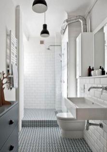 Industrial Small Bathroom Design 12