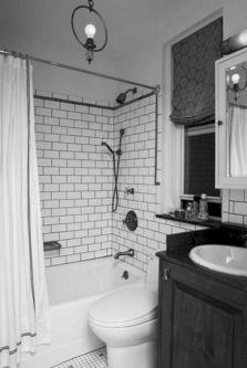 Industrial Small Bathroom Design 16