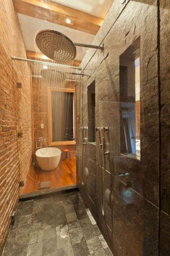 Industrial Small Bathroom Design 20