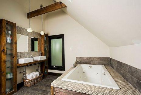 Industrial Small Bathroom Design 6