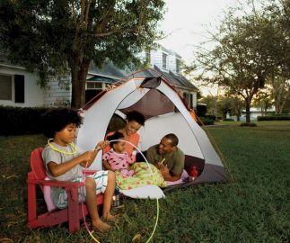Kids Backyard Camping Idea 12
