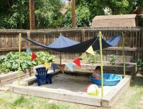 Kids Backyard Camping Idea 16