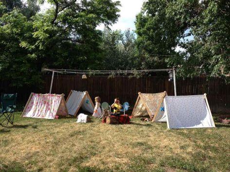 Kids Backyard Camping Idea 27