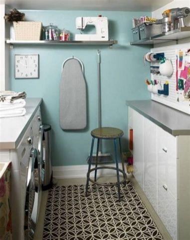 Laundry Craft Room Combo Design 10