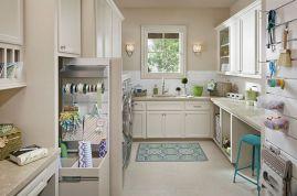 Laundry Craft Room Combo Design 12