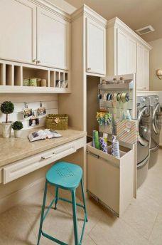 Laundry Craft Room Combo Design 15